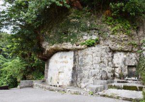 百十踏揚(ももとふみあがり)の墓